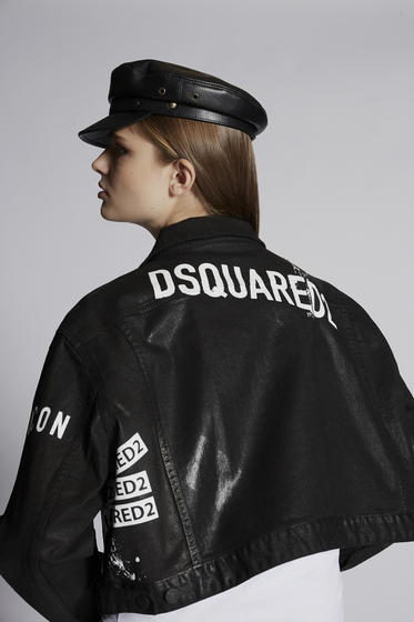 DSQUARED2 Leather outerwear [*** pickupInStoreShipping_info ***] S75AM0644SY1344905 b