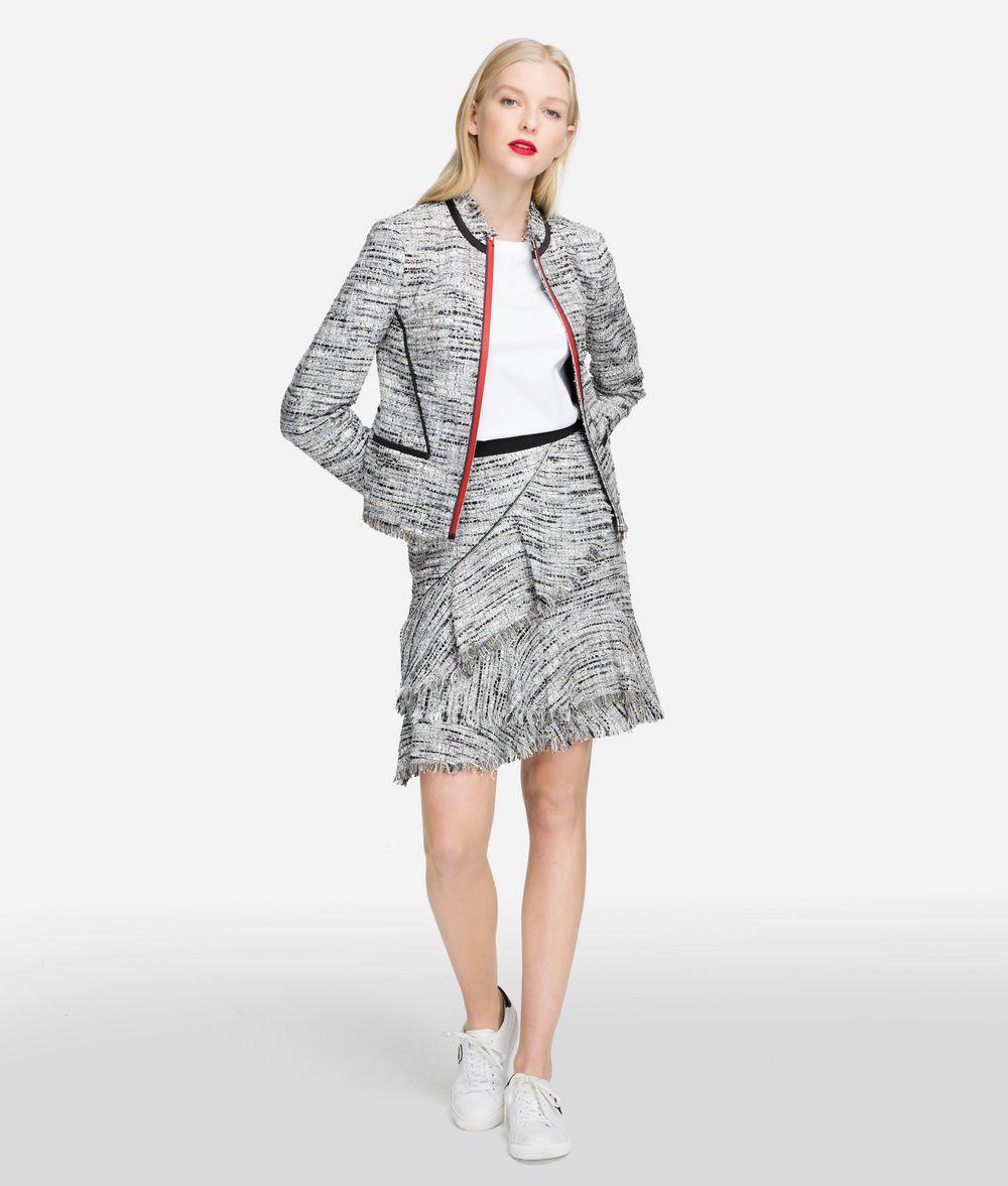 giacca donna sprofilata