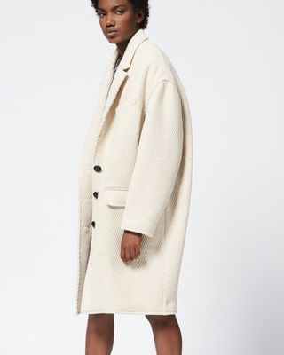 ISABEL MARANT ÉTOILE COAT Woman GIMI coat r