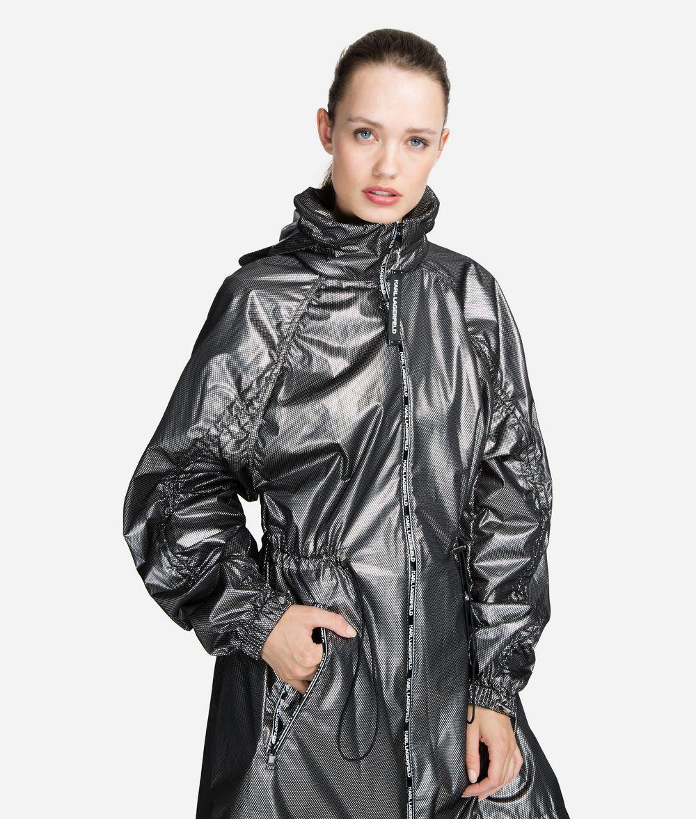 KARL LAGERFELD Technical Anorak Outerwear Woman f