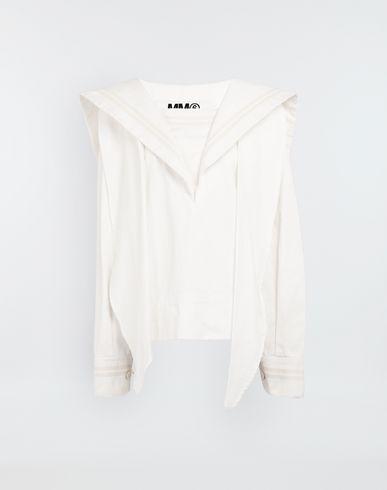MM6 MAISON MARGIELA Спортивная куртка oversize в матросском стиле Пиджак [*** pickupInStoreShipping_info ***] f