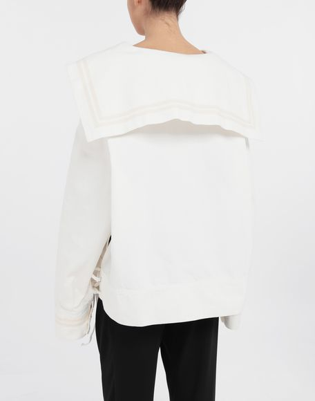 MM6 MAISON MARGIELA Oversized sailor sportsjacket Jacket Woman e