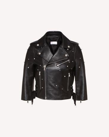 REDValentino RR3NA00VFIU 0NO Jacket Woman a