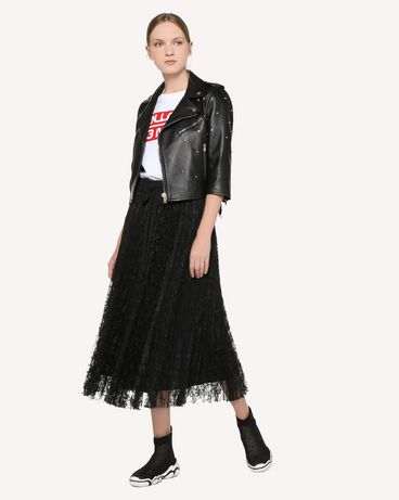 REDValentino RR3NA00VFIU 0NO Jacket Woman d