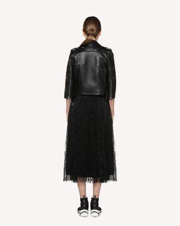 REDValentino RR3NA00VFIU 0NO Jacket Woman r