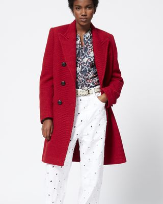 ISABEL MARANT ÉTOILE COAT Woman GLEEN coat r