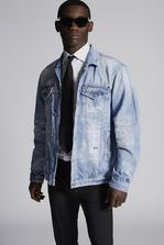 DSQUARED2 Light Piranha Over Denim Jacket  Denim outerwear Man