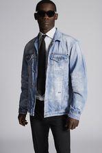DSQUARED2 Light Piranha Over Denim Jacket  Denim outerwear Man
