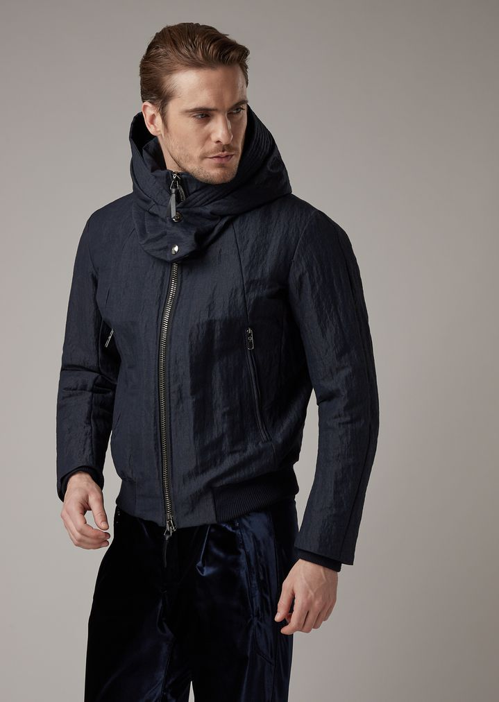 8a25672086 Technical ski jacket in hi-tech water-repellent fabric