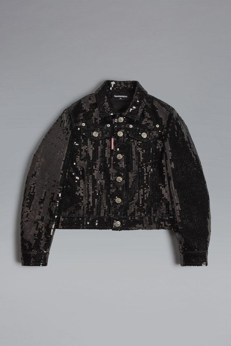 DSQUARED2 Sequined Jacket JACKET/BLAZER Woman