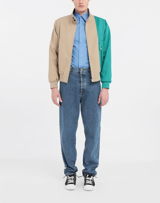 MAISON MARGIELA Spliced gabardine sportsjacket  Blazer [*** pickupInStoreShippingNotGuaranteed_info ***] d