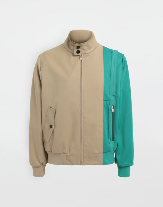 MAISON MARGIELA Spliced gabardine sportsjacket  Blazer [*** pickupInStoreShippingNotGuaranteed_info ***] f