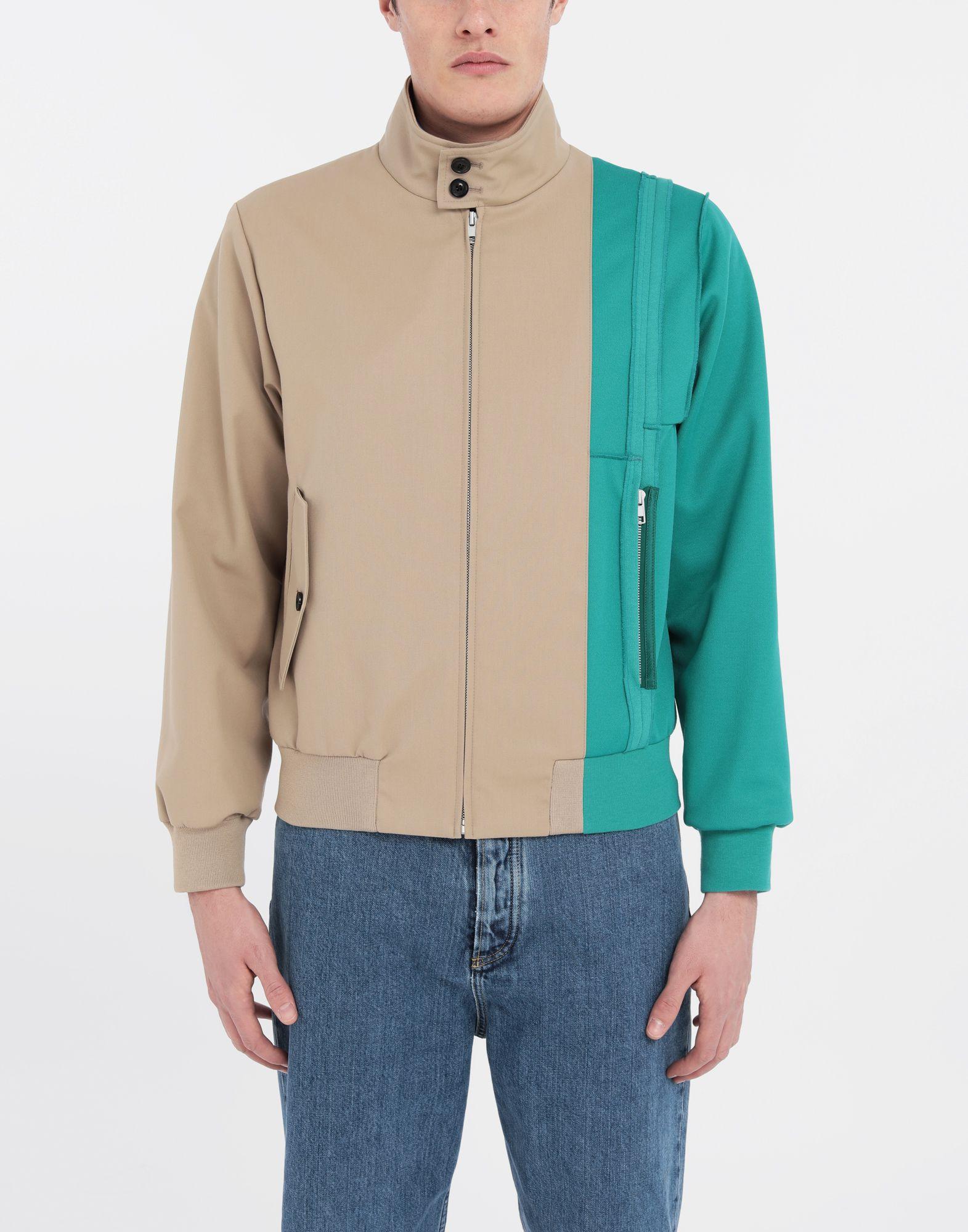 MAISON MARGIELA Spliced gabardine sports jacket  Blazer Man r