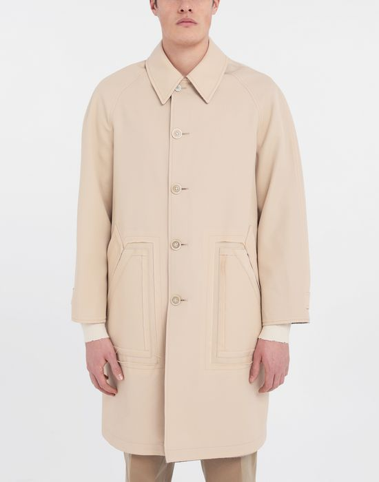 MAISON MARGIELA Reversible Décortiqué wool coat Full-length jacket [*** pickupInStoreShippingNotGuaranteed_info ***] r