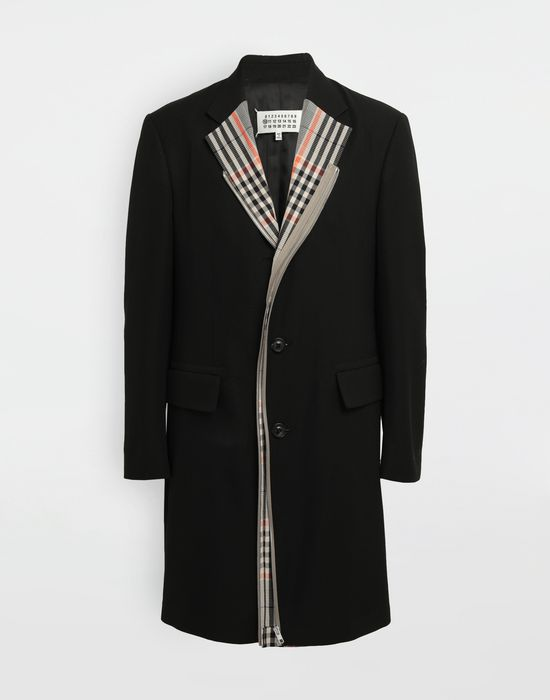 MAISON MARGIELA Zip In - Zip Out reversible coat Coat [*** pickupInStoreShippingNotGuaranteed_info ***] f