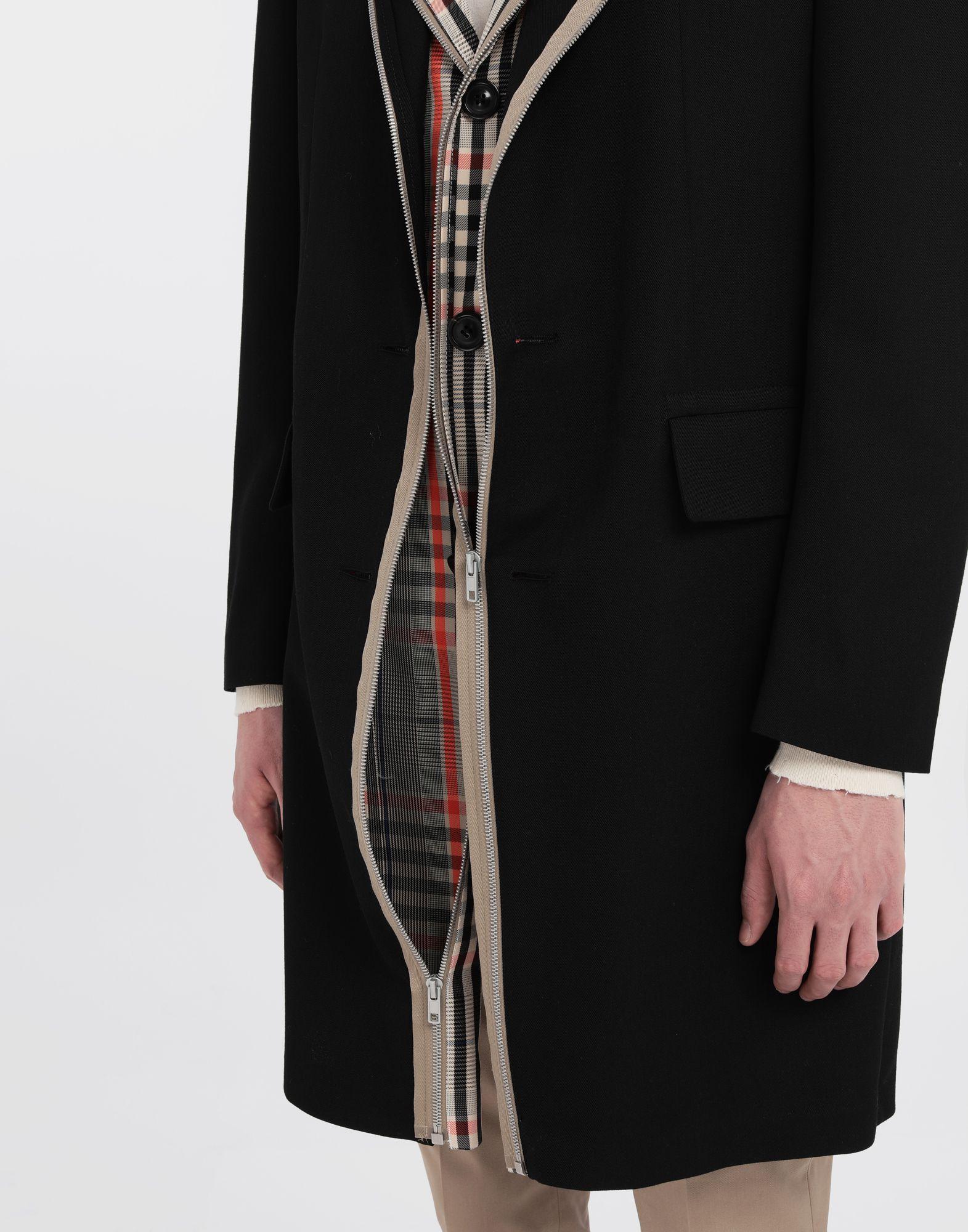MAISON MARGIELA Zip In - Zip Out reversible coat Coat Man a
