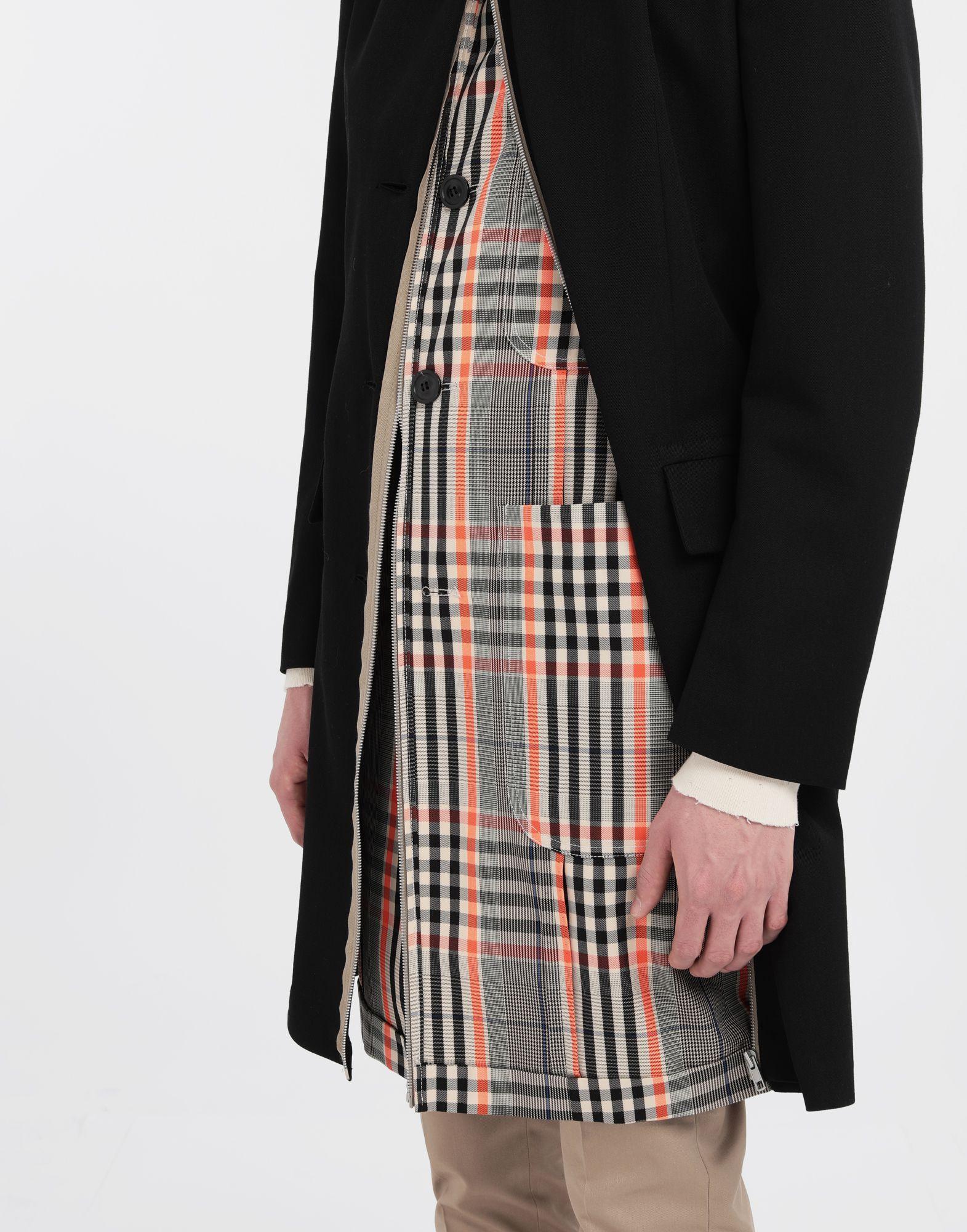 MAISON MARGIELA Zip In - Zip Out reversible coat Coat Man b