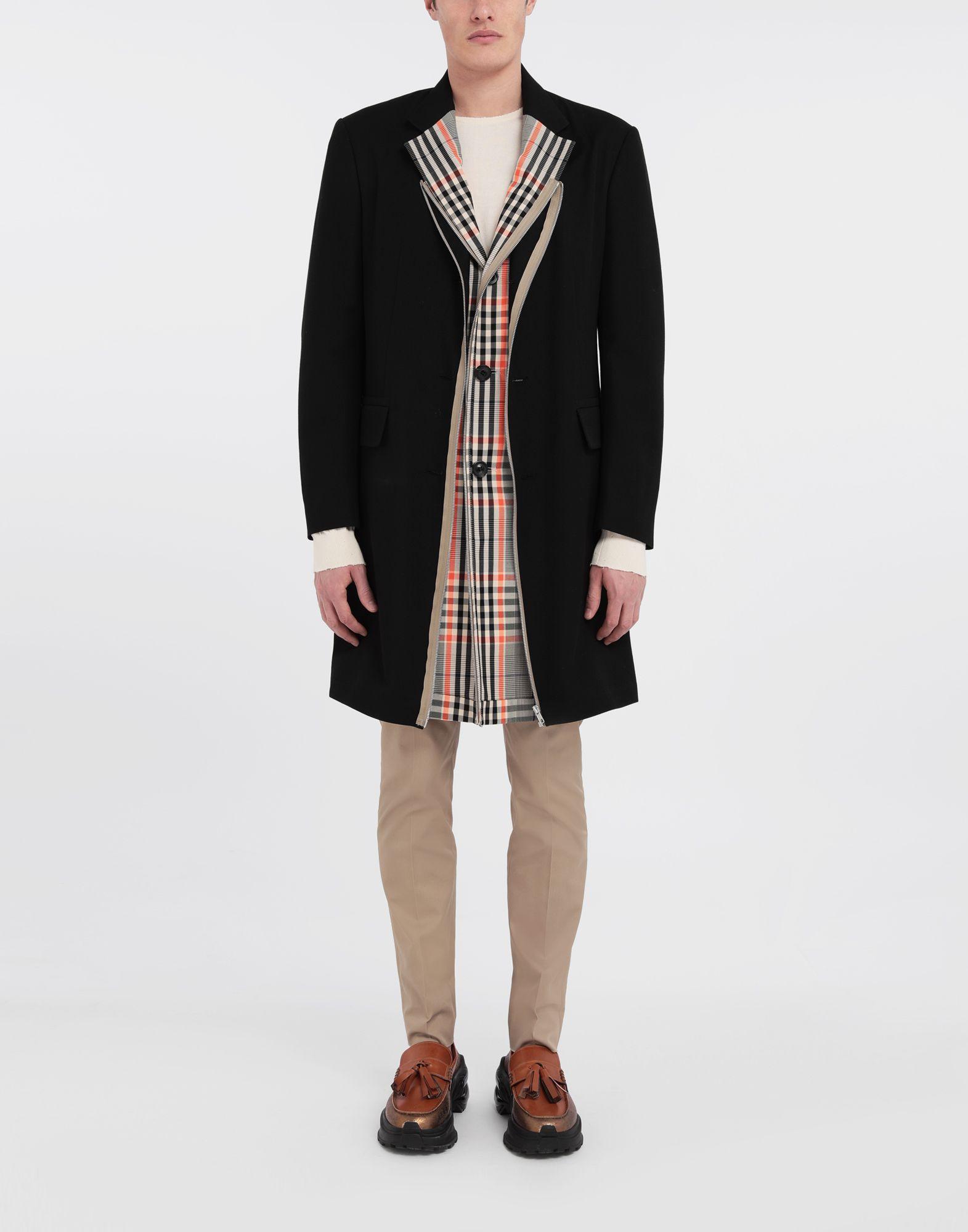MAISON MARGIELA Zip In - Zip Out reversible coat Coat Man d