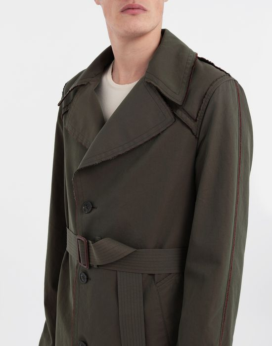 MAISON MARGIELA Décortiqué tonic gabardine trench coat Raincoat [*** pickupInStoreShippingNotGuaranteed_info ***] a