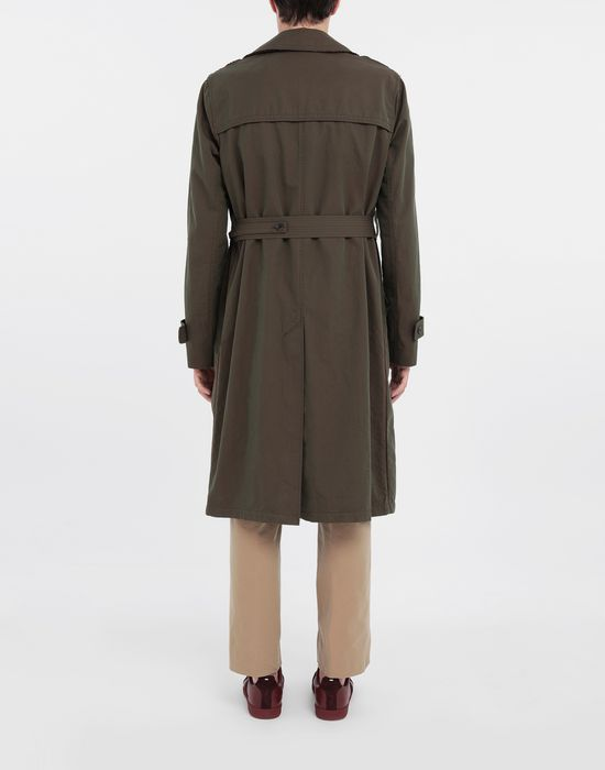 MAISON MARGIELA Décortiqué tonic gabardine trench coat Raincoat [*** pickupInStoreShippingNotGuaranteed_info ***] e