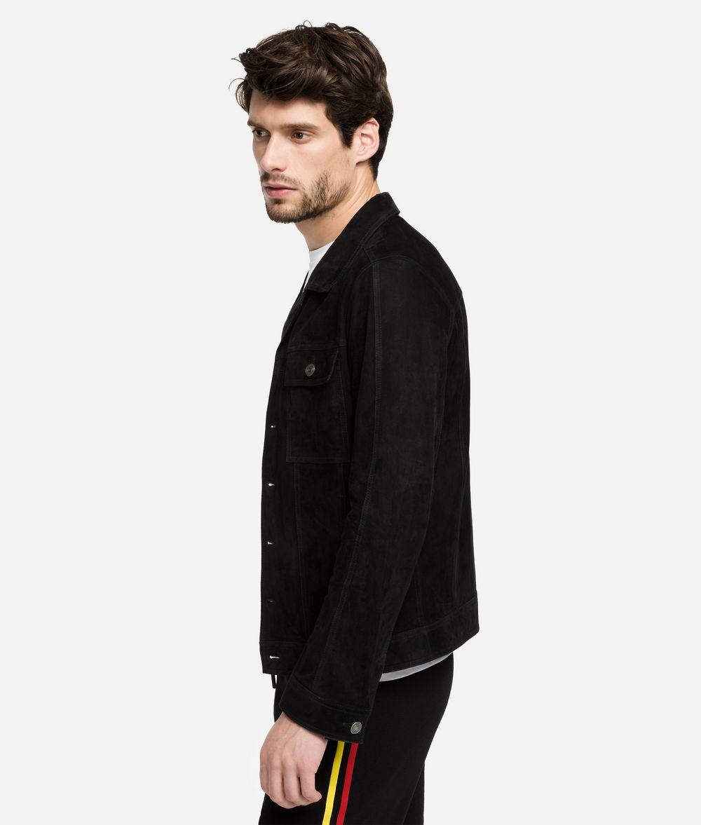 KARL LAGERFELD Suede Jacket Jacket Man d