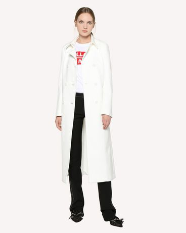 REDValentino RR3CAA00THP 031 Manteau Femme d