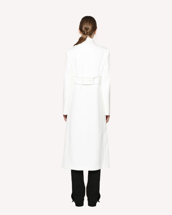 REDValentino Techno Peacoat long coat