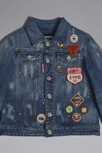 DSQUARED2 Patches Denim Jacket JACKET/BLAZER Man
