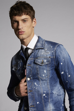 DSQUARED2 Botanical Garden Dan Denim Jacket Denim outerwear Man