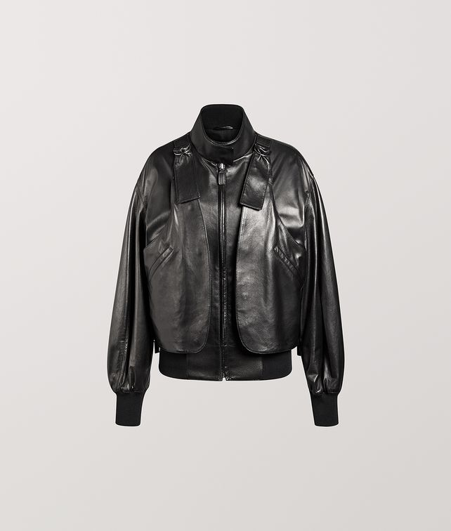 BOTTEGA VENETA BOMBER JACKET IN NAPPA Outerwear and Jacket Woman fp