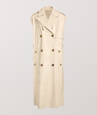 TRENCH COAT IN CALF LEATHER