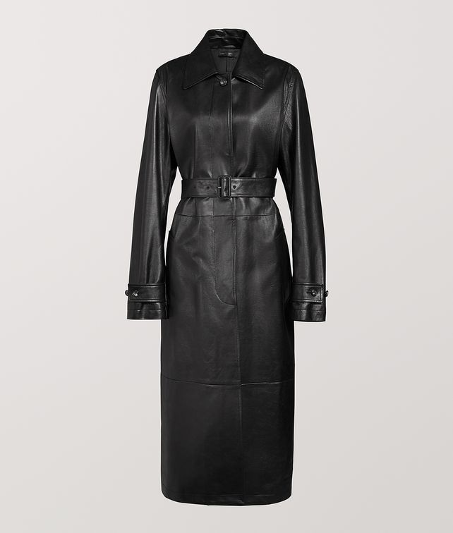 BOTTEGA VENETA COAT IN CALF Outerwear and Jacket [*** pickupInStoreShipping_info ***] fp
