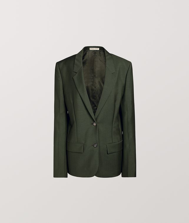 BOTTEGA VENETA JACKET IN LIGHT MOHAIR WOOL Outerwear and Jacket Woman fp