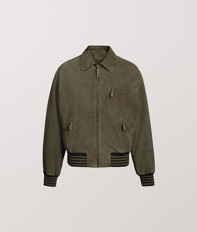 BOTTEGA VENETA JACKET IN SUEDE Outerwear and Jacket Man fp