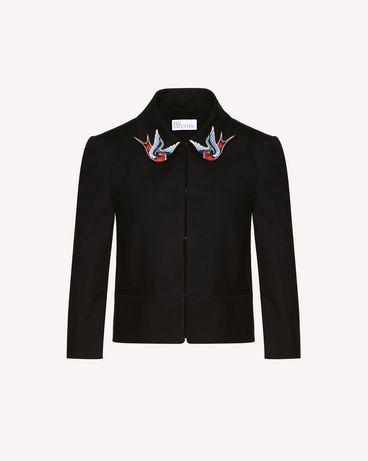REDValentino RR0CEA50VHE 0NO Jacket Woman a