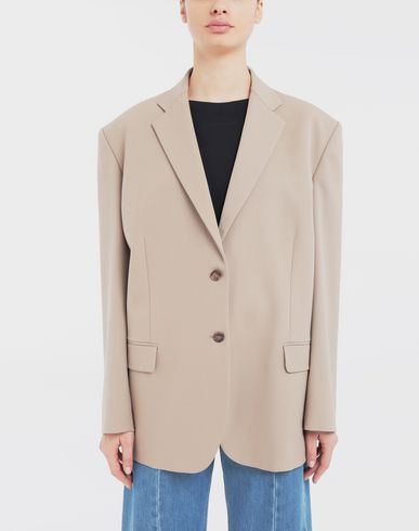 COATS & JACKETS Thermo-fused tape  wool-blend jacket