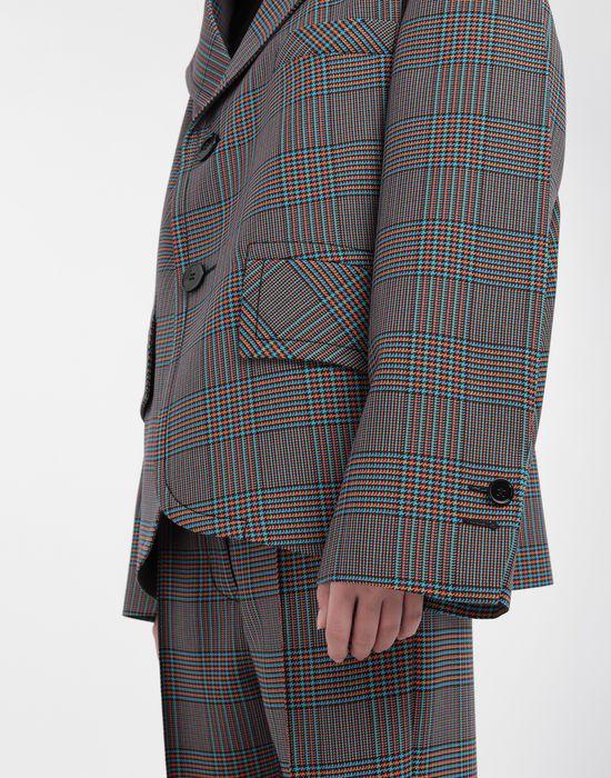 MM6 MAISON MARGIELA Oversized checked wool jacket Jacket [*** pickupInStoreShipping_info ***] a