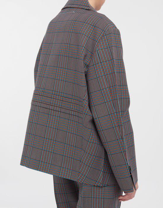 MM6 MAISON MARGIELA Oversized checked wool jacket Blazer [*** pickupInStoreShipping_info ***] b