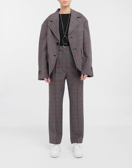 MM6 MAISON MARGIELA Oversized checked wool jacket Blazer [*** pickupInStoreShipping_info ***] d