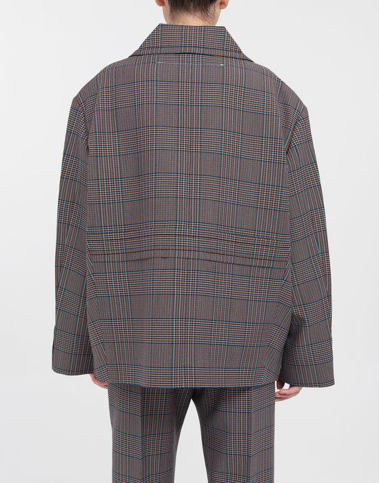 MM6 MAISON MARGIELA Oversized checked wool jacket Jacket [*** pickupInStoreShipping_info ***] e