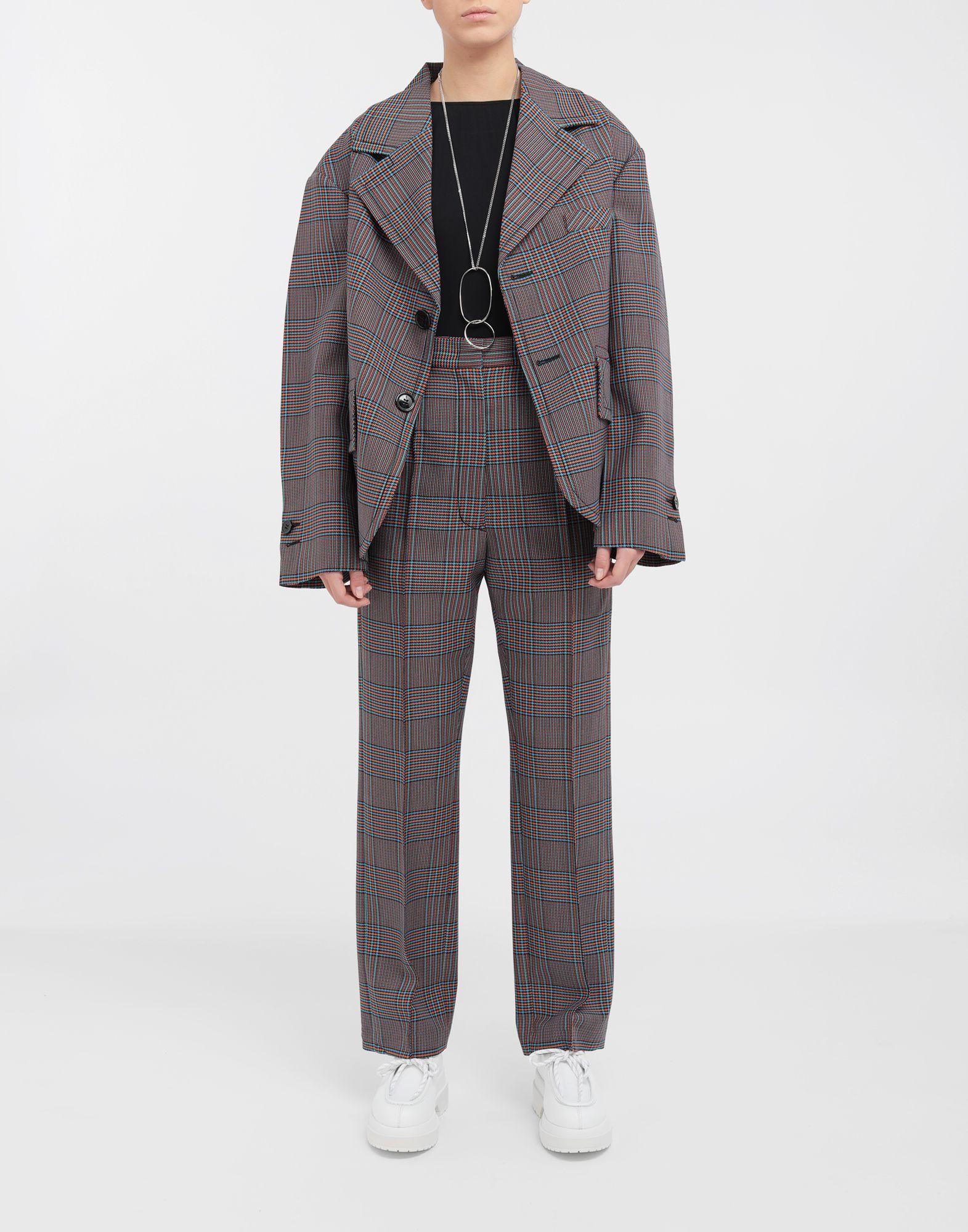 MM6 MAISON MARGIELA Oversized checked wool jacket Jacket Woman d
