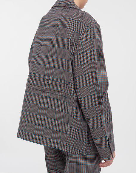MM6 MAISON MARGIELA Oversized checked wool jacket Jacket Woman b