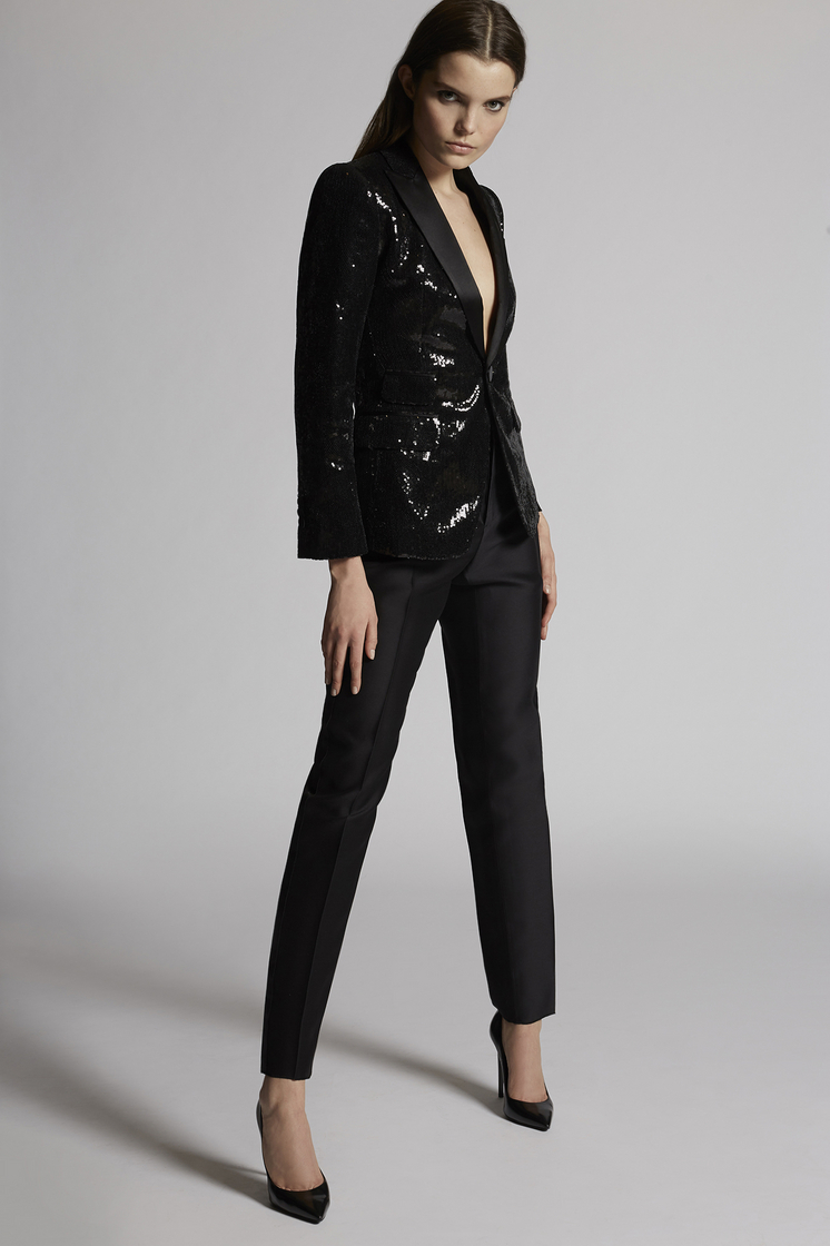 DSQUARED2 Paillettes Sequined Emmalynn Rodeo Blazer JACKET/BLAZER Woman