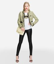 KARL LAGERFELD Bouclé Jacket with Pin 9_f