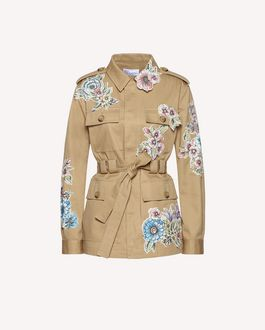 REDValentino Jacket Woman RR0CEA403M7 0NO a