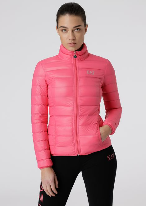 Train Core padded jacket with pouch