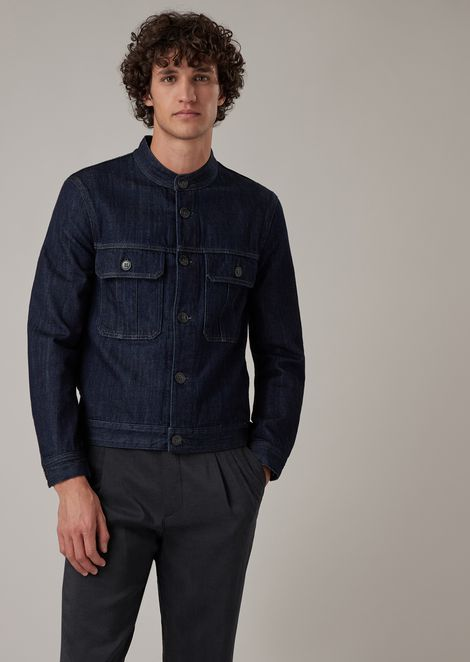 Zimbabwe cotton denim jacket