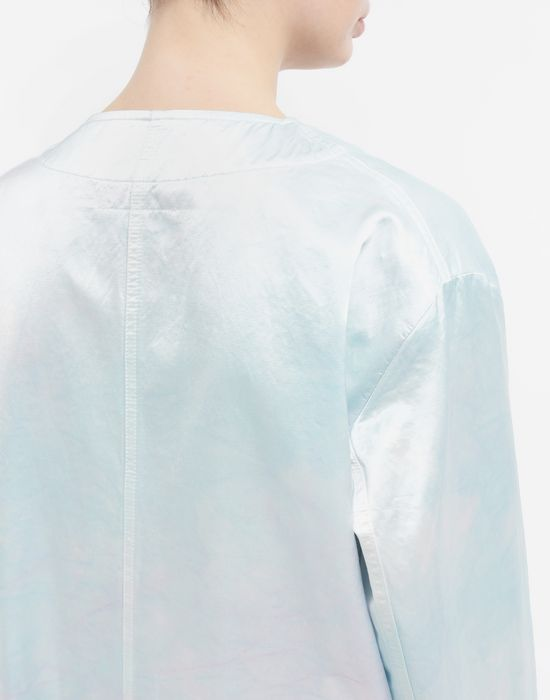 MM6 MAISON MARGIELA Manteau peignoir en satin Manteau long [*** pickupInStoreShipping_info ***] b