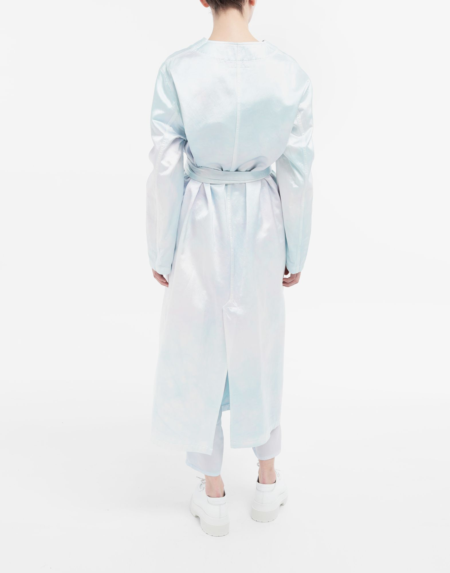 MM6 MAISON MARGIELA Wrap satin coat Coats and Trenches Woman e