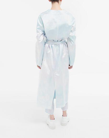 MM6 MAISON MARGIELA Wrap satin coat Coat Woman e